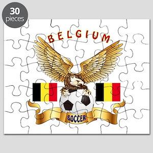 Belgium Football Design Puzzle