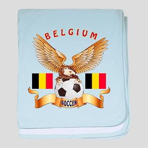 Belgium Football Design baby blanket