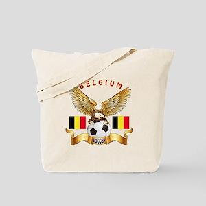 Belgium Football Design Tote Bag