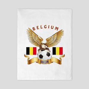 Belgium Football Design Twin Duvet