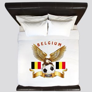 Belgium Football Design King Duvet