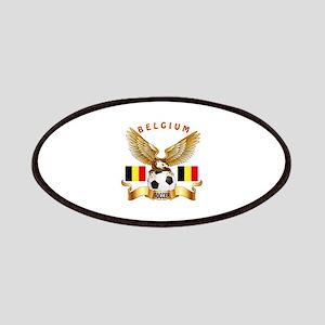 Belgium Football Design Patches