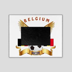 Belgium Football Design Picture Frame