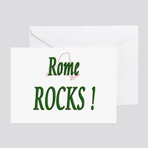 Rome Rocks ! Greeting Cards (Pk of 10)