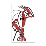 Rocky Lobster 35x21 Wall Decal