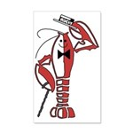 Rocky Lobster 20x12 Wall Decal