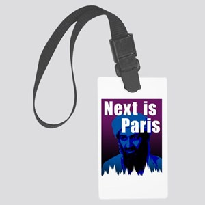 Next is Paris Large Luggage Tag