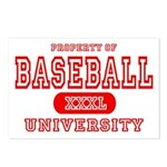 Baseball University Postcards (Package of 8)
