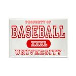 Baseball University Rectangle Magnet (10 pack)
