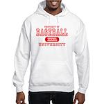Baseball University Hooded Sweatshirt