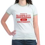 Baseball University Jr. Ringer T-Shirt