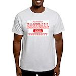 Baseball University Ash Grey T-Shirt