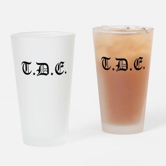 TDE Drinking Glass