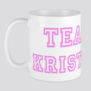 Pink team Kristen Mug
