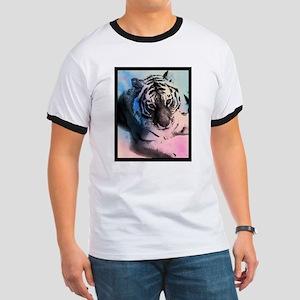 Pastel Tiger Ringer T