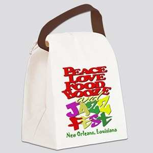 Jazz Fest Canvas Lunch Bag