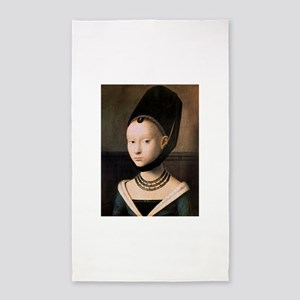 Petrus Christus Young Woman Portrait 3'x5' Area Ru