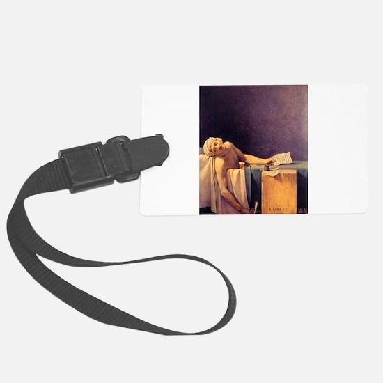 Jacques-Louis David Death Of Marat Luggage Tag