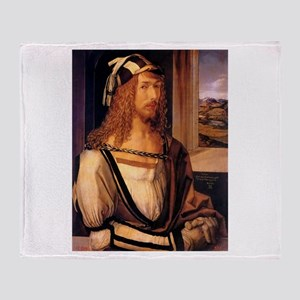 Albrecht Durer Self Portrait Throw Blanket