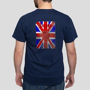 Churchill Union Jack Dark T-Shirt