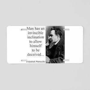 Man Has An Invincible Inclination - Nietzsche Alum