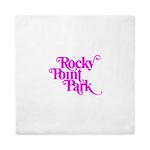 Rocky Point Park Logo - PINK Queen Duvet