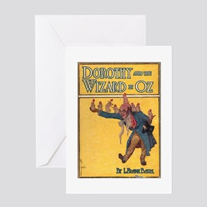 Dorothy and the WIzard in Oz Greeting Card