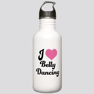 I Love Belly Dancing Stainless Water Bottle 1.0L