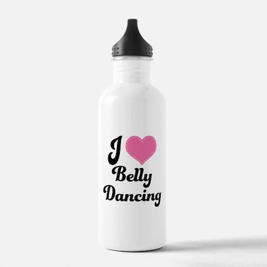 I Love Belly Dancing Water Bottle