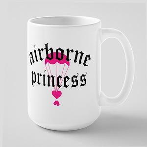 airborne princess Large Mug