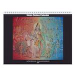 Hindu Calendar (13 paintings)