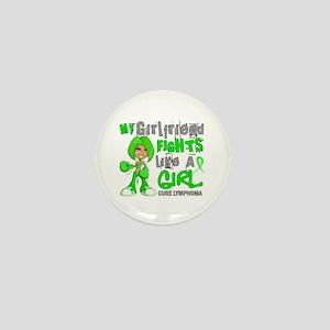 Fights Like a Girl 42.9 Lymphoma Mini Button