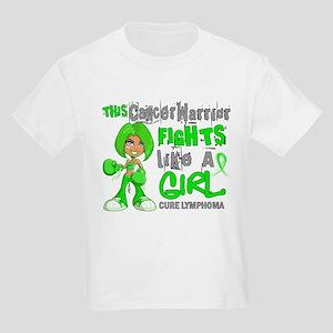 Fights Like a Girl 42.9 Lymphoma Kids Light T-Shir