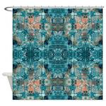 Subaqueous Kaleidoscope Shower Curtain