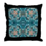 Subaqueous Kaleidoscope Throw Pillow