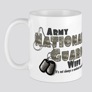 National Guard Wife - Digital Mug