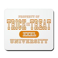 Trick or Treat University Mousepad
