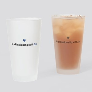 Zoe Relationship Drinking Glass