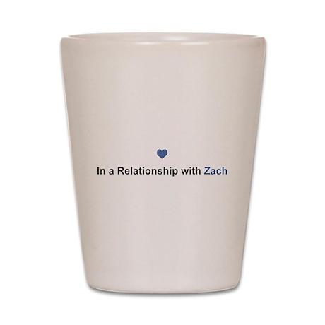 Zach Relationship Shot Glass