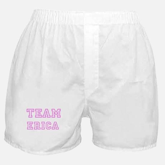 Pink team Erica Boxer Shorts