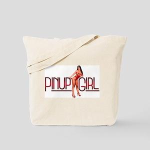 Sexy Pinup Girl Tote Bag