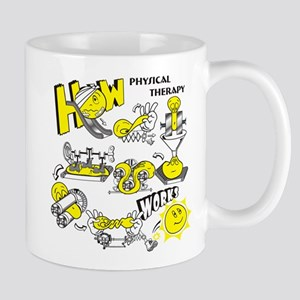 How physical therapy works Mug