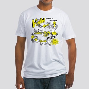 How physical therapy works Fitted T-Shirt
