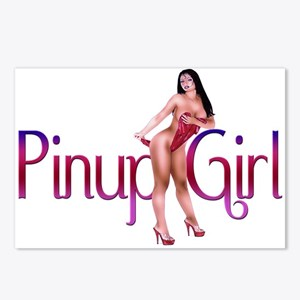 Sexy Pinup Girl Postcards (Package of 8)