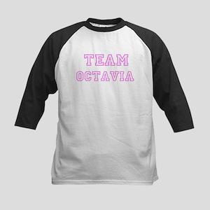 Pink team Octavia Kids Baseball Jersey