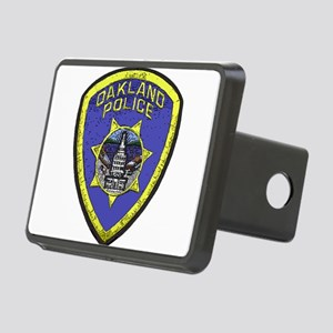 Oakland Police patch Rectangular Hitch Cover