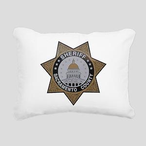 Sacramento County Sheriff badge Rectangular Canvas