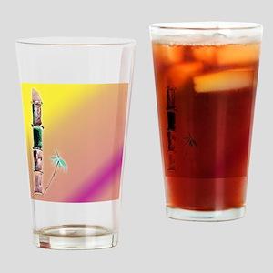 Sunset /bambo Drinking Glass