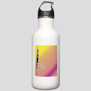 Sunset /bambo Stainless Water Bottle 1.0L