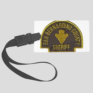San Bernardino County Sheriff patch Large Luggage
